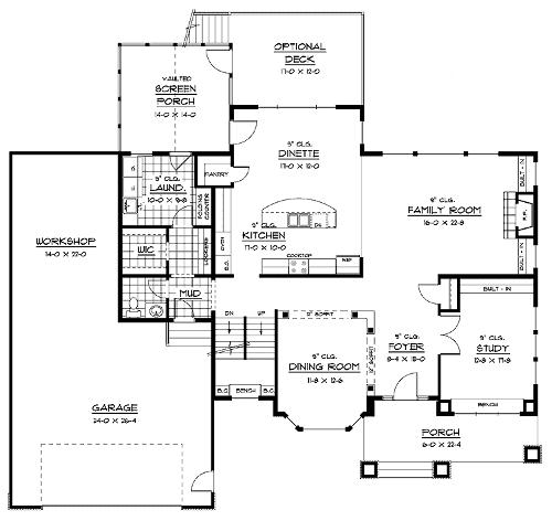 Floor Plans - Outlaw Construction Inc.